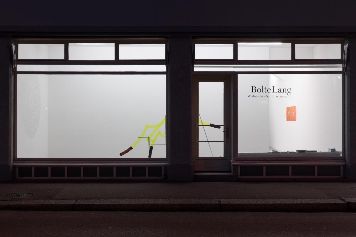 Installationsansicht Kaspar Müller, Daniel Jacoby
