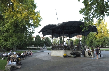 Picknick, Pavillon Platzspitz park