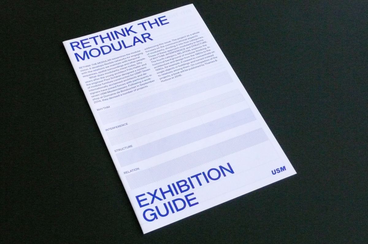 Rethink the Modular, exhibition guide, 2015