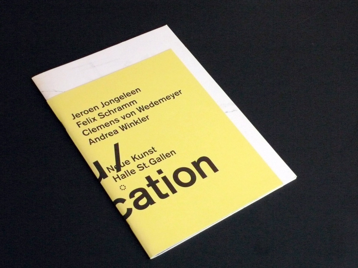 Publication Umbau/Modification, 2007
